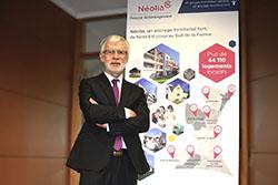 Serge Goubet president CA Neolia