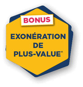 Exonération de plus-value*