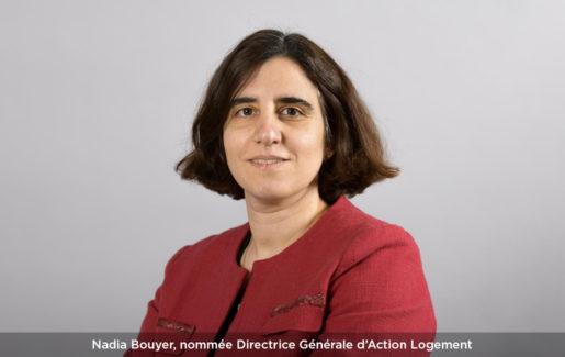Nadia Bouyer, nommée Directrice Générale d'Action Logement